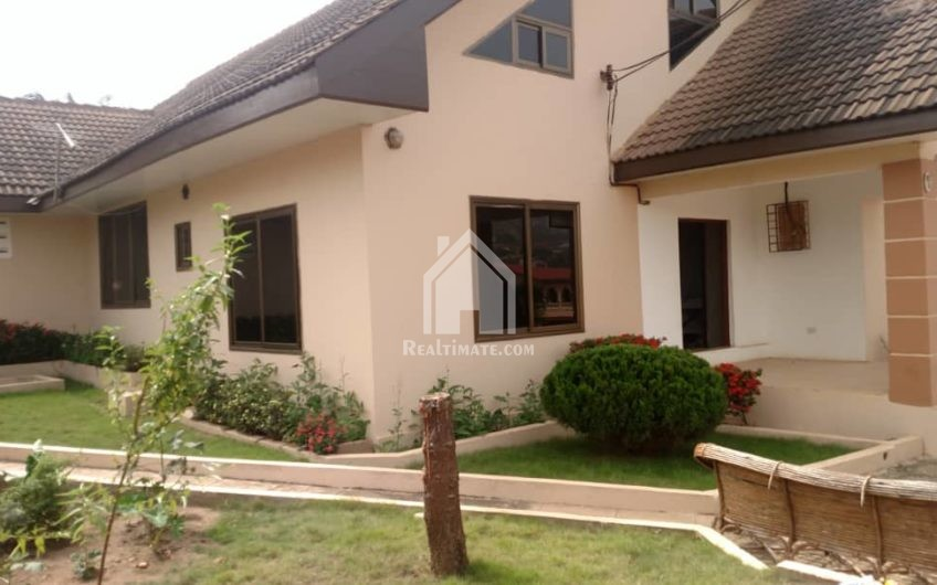 A 4-bedroom apartment at Gbawe CP.