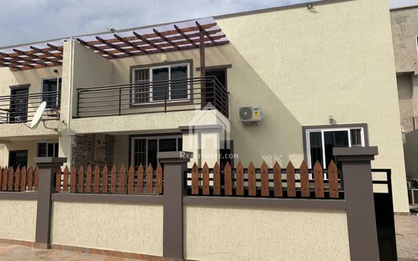 4 bedrooms newly built self-compound for rent at adjiringanor GH Canada