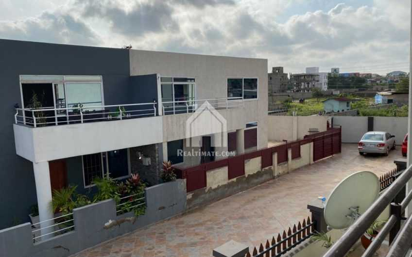 4-Bedroom self-compound in a gated community for rent at East Legon adjiriganor near Ghana Canada hospital